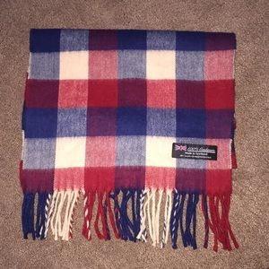 100% Cashmere unisex scarf- made in Scotland